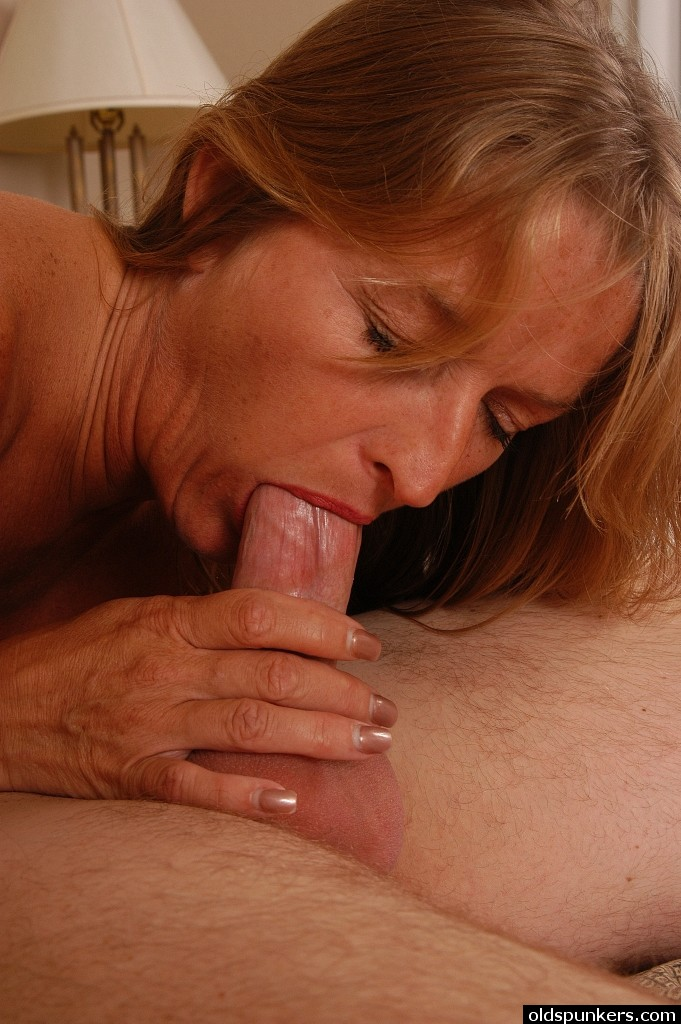 Older Women Tasting Jizz