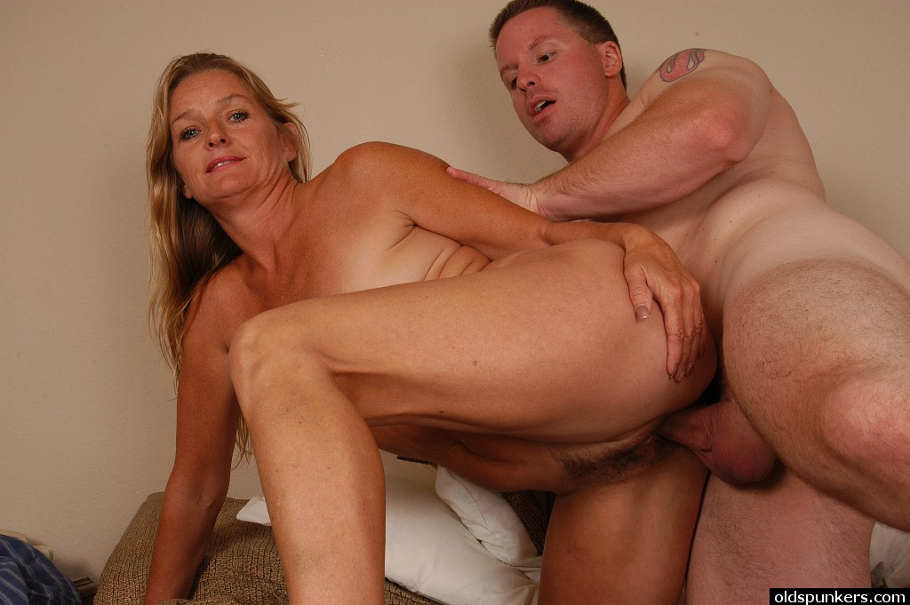 Mature Woman Fucking A Young Man
