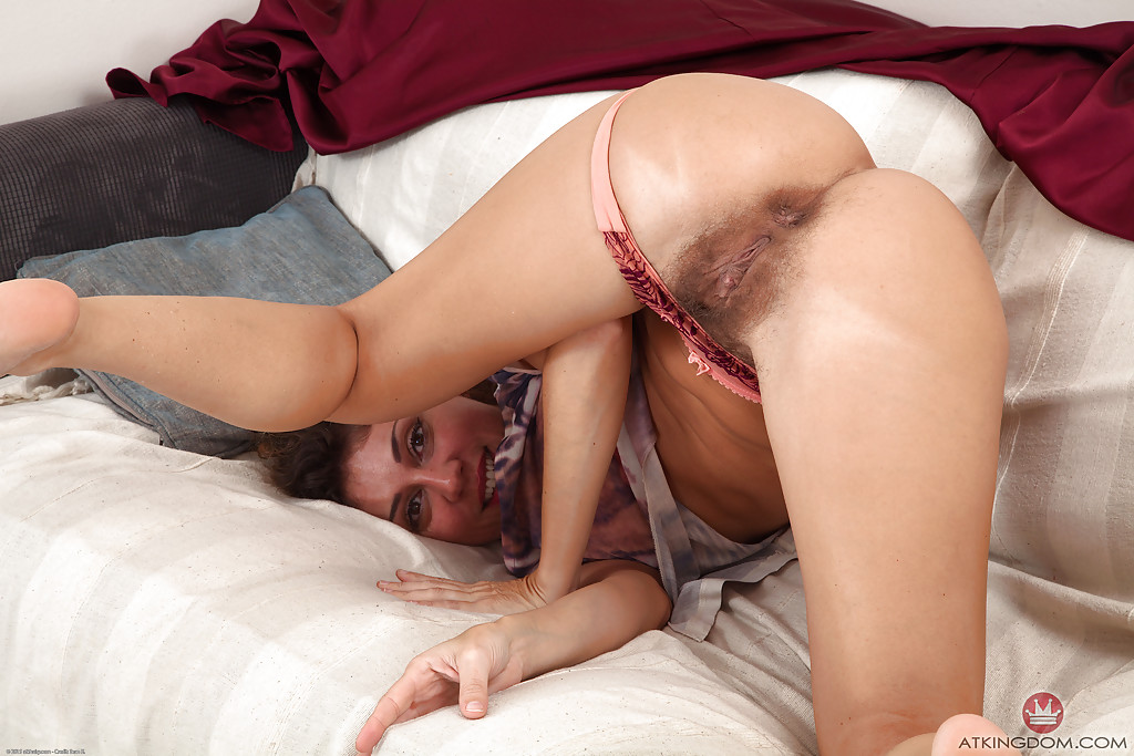 Hairy milf french chloe wears crotchless fishnet pantyhose 4