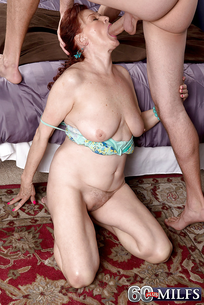 Big cock granny sex