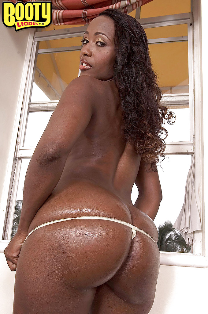 Ebony thong models
