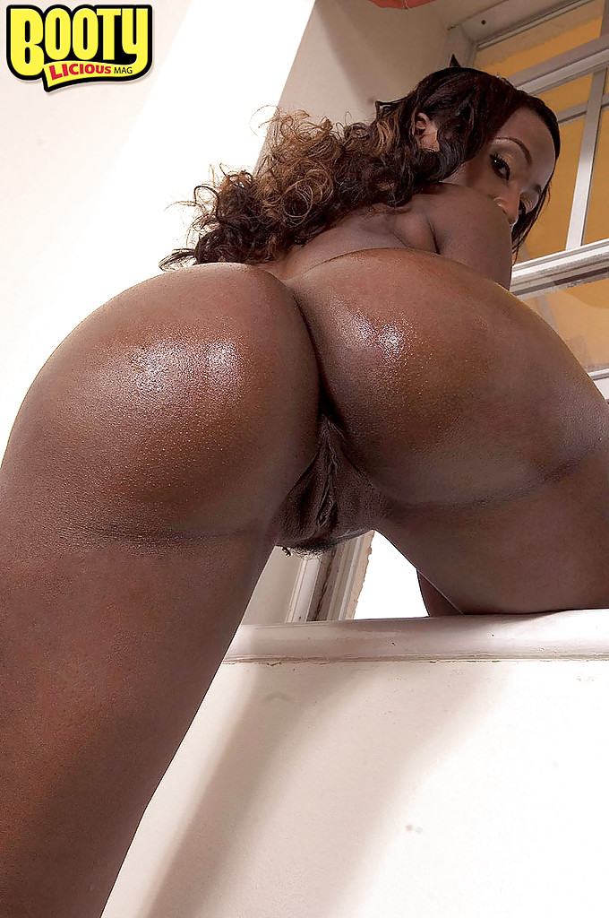 Thick big ass ebony needs