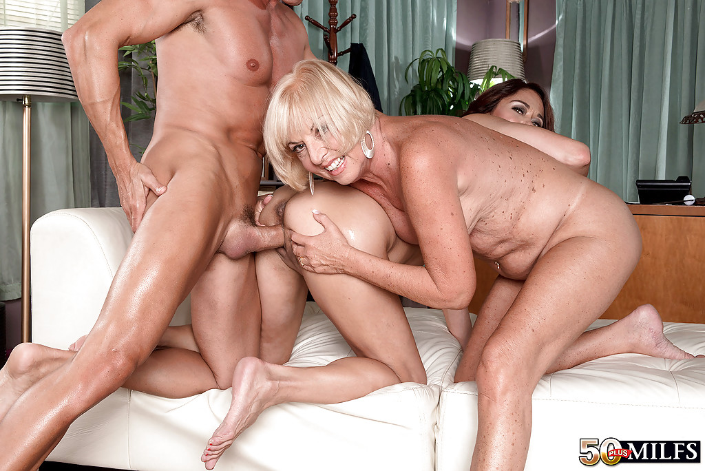 Opinion cock riding mature threesome opinion