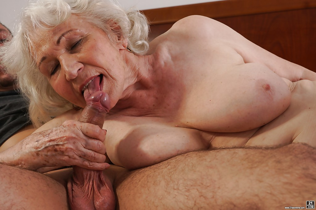 Granny loves cock and spunk