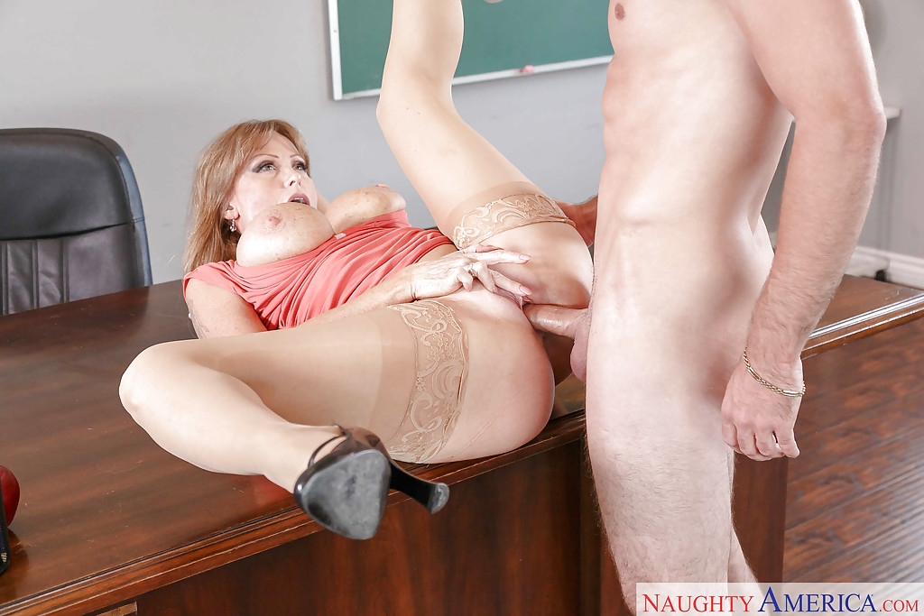 Large dick teacher fucks student