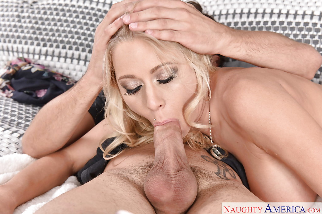 Katie morgan sucking cock