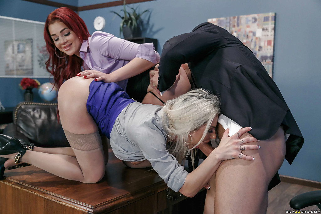 Three some in office