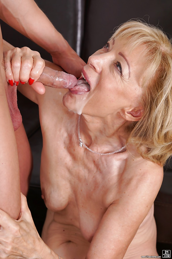 Remarkable, rather Cum shot old lady