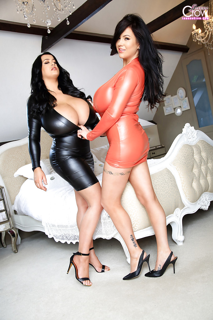 Amusing huge tits latex you
