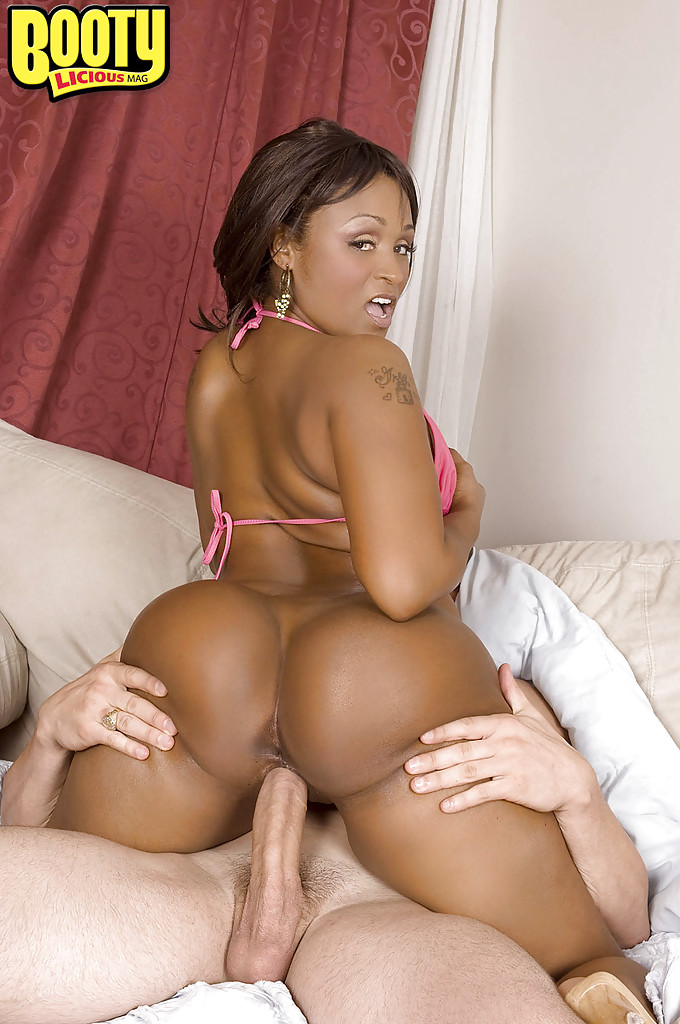 Big Ass Ebony Anal Threesome