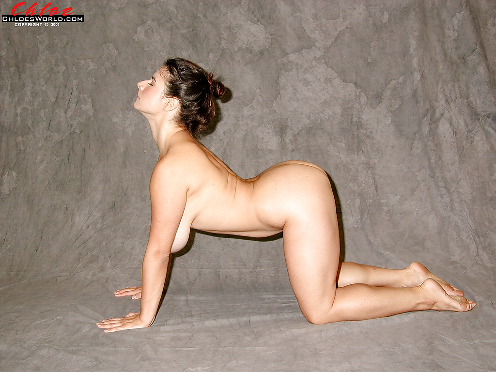 Nude yoga think