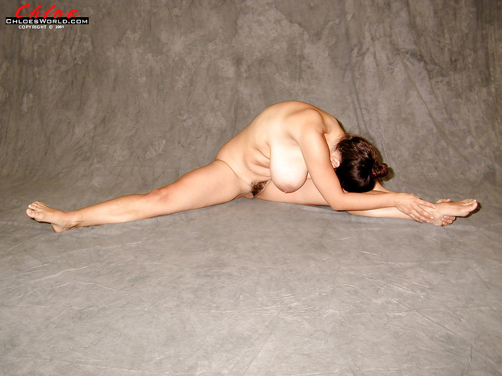 You hard Chunky women yoga nude