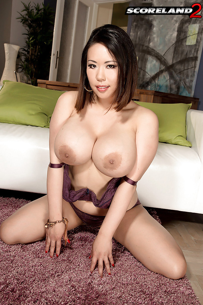 big tits Perfect round fake asian