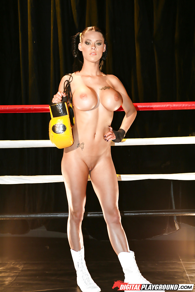 Topless boxing porn