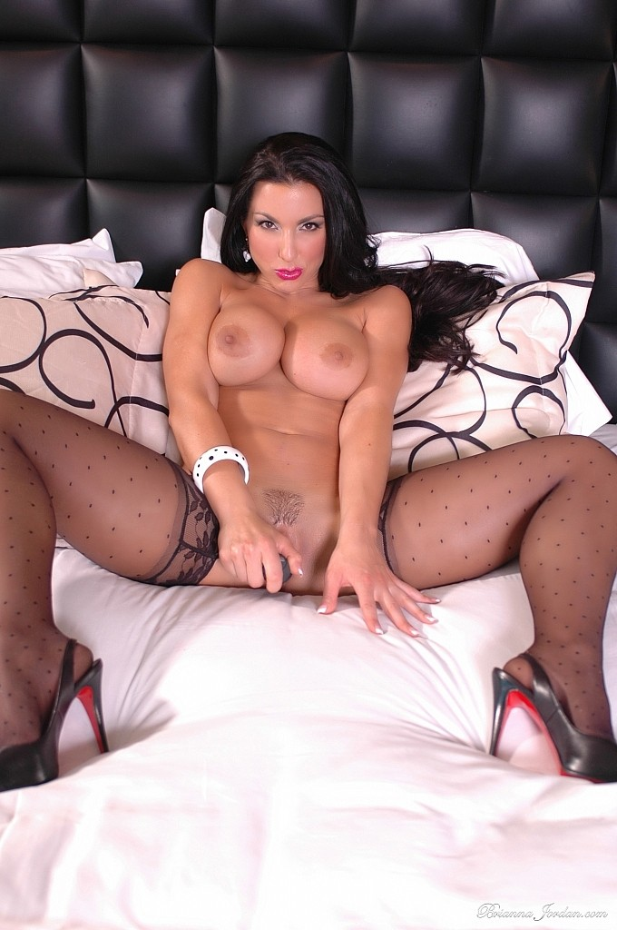 Think, that Brianna jordan stockings completely agree