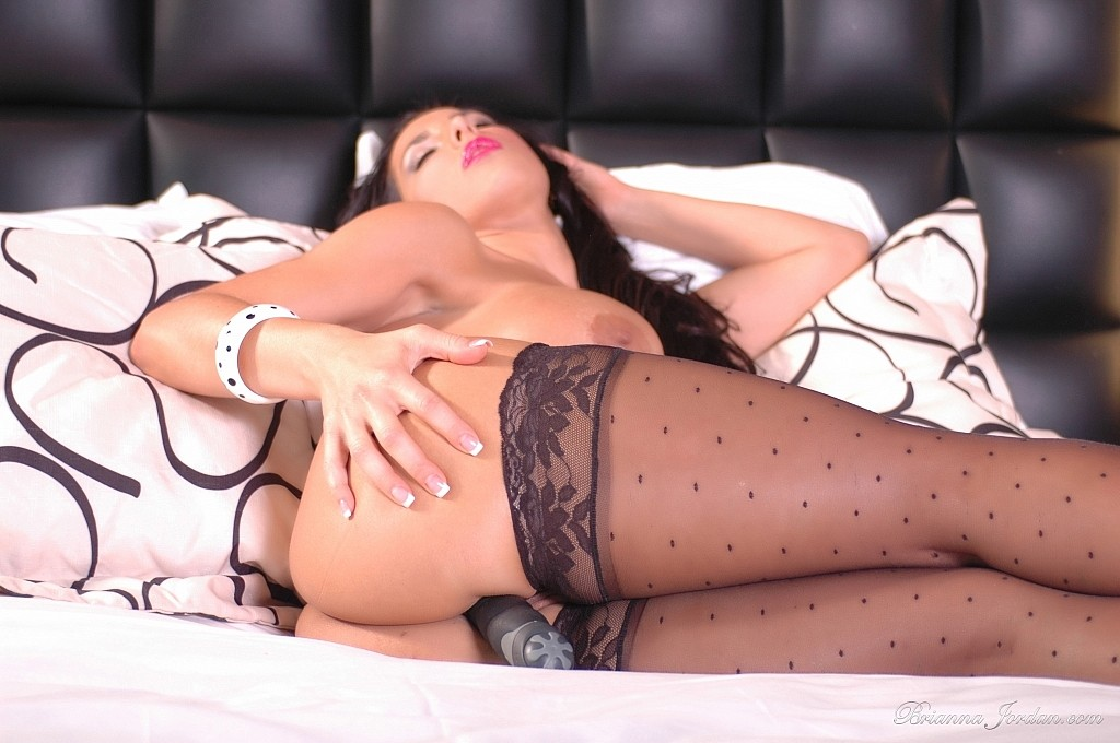 Opinion Brianna jordan stockings