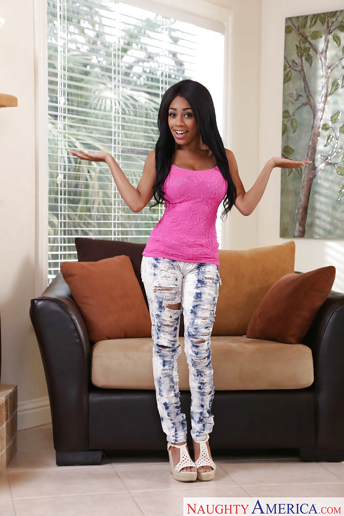 naughty ebony teen