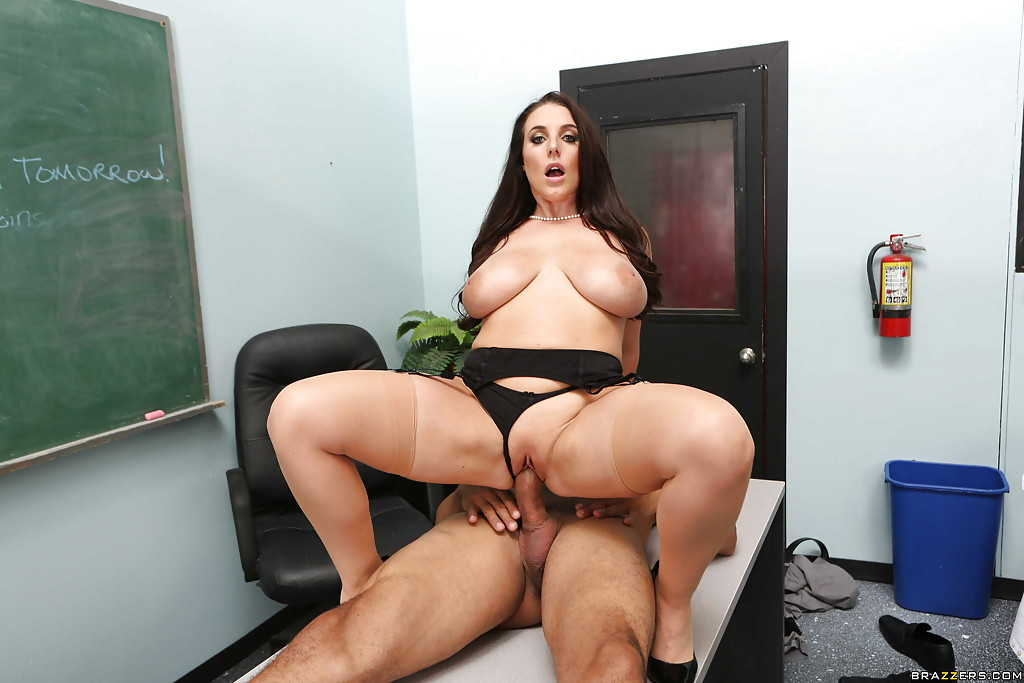 Angela White Library Porn