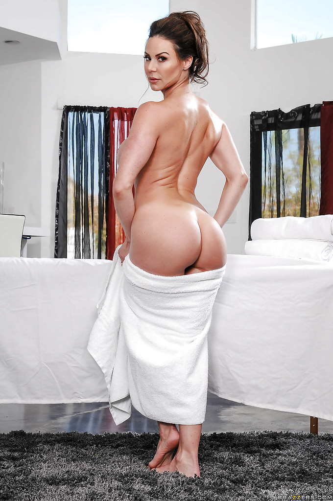 Milf in towel