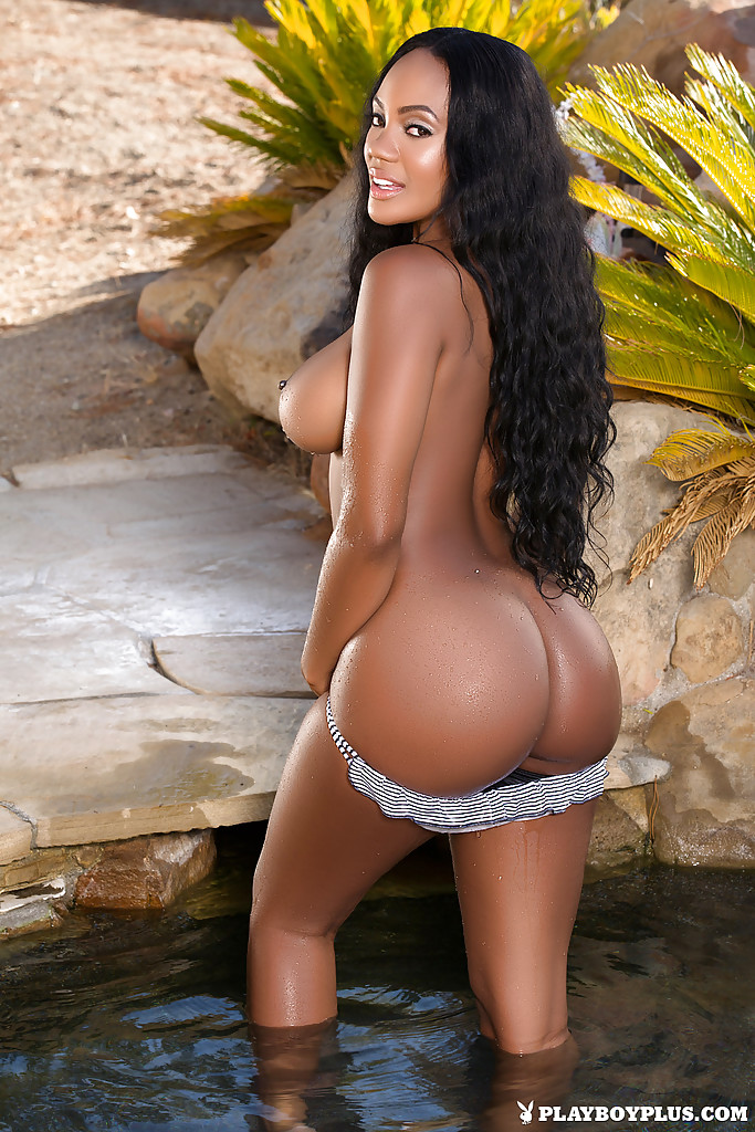 top ebony porn girl brandi kelly amazing outdoor nudity solo