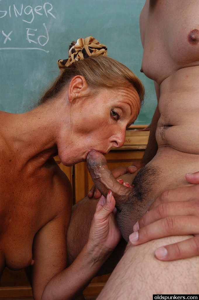 Mature teacher ride young consider, that