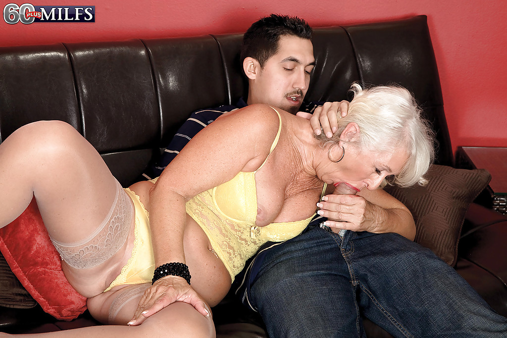 Oral sex with granny