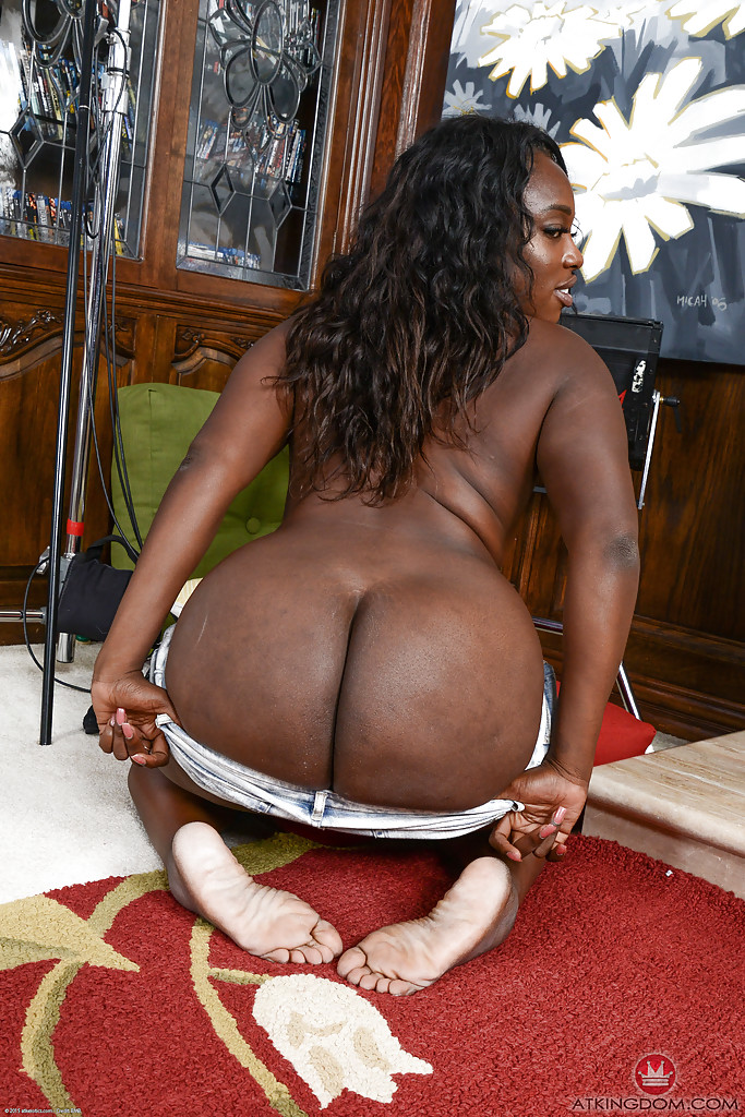 Fine ebony ass