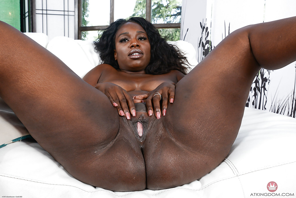 Big black shaved pussies
