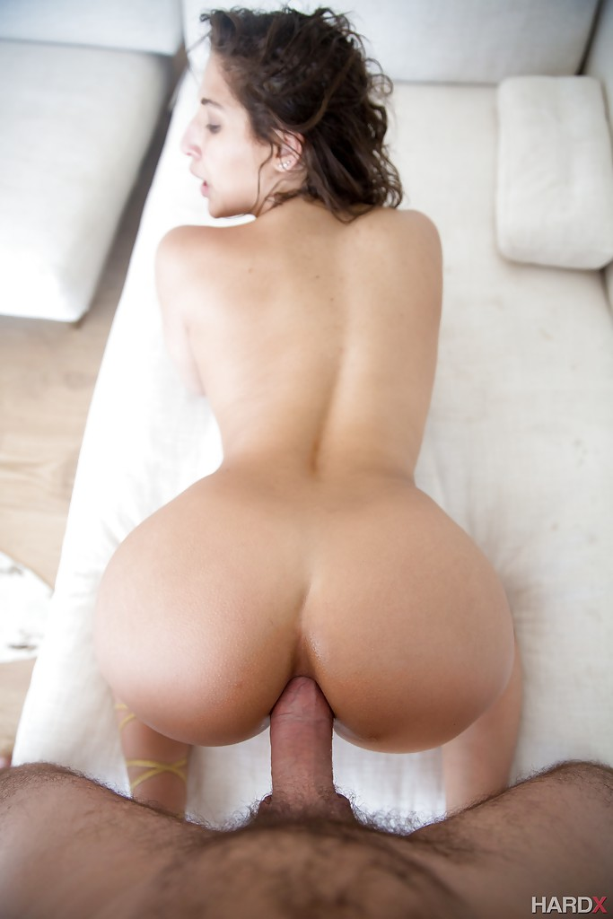Naked Pornstar Abella Danger Displaying Big Booty During Ass Fucking