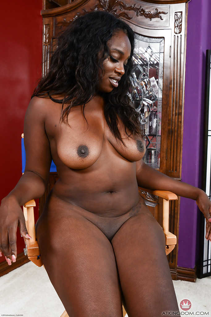 Black naked wife