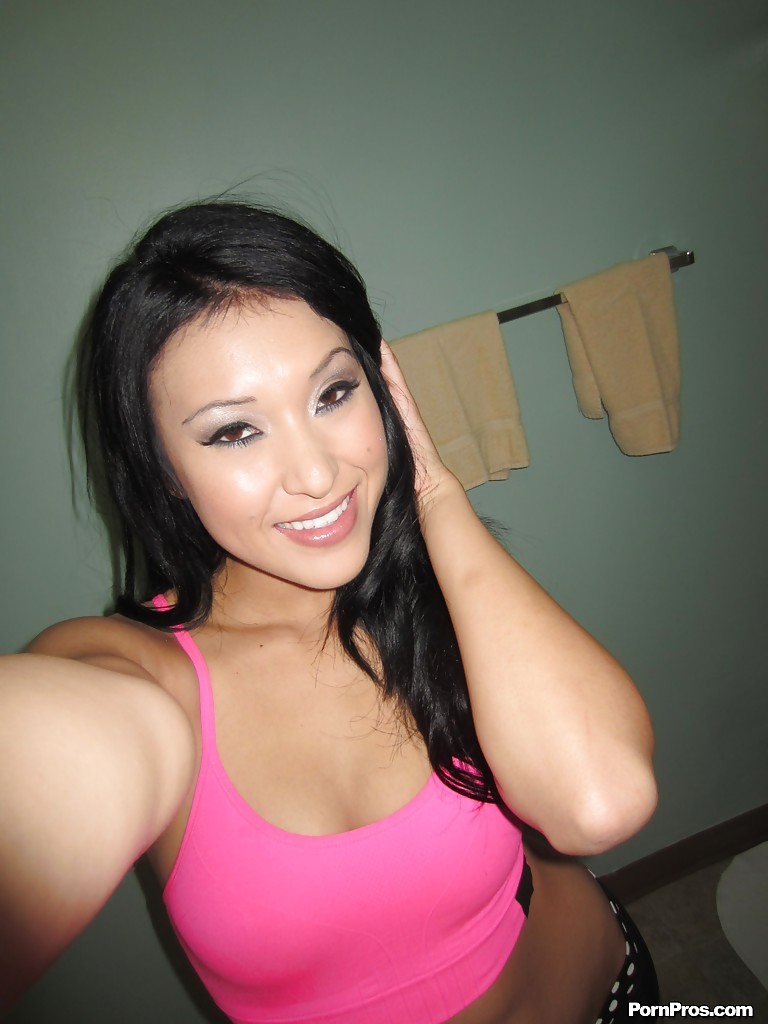 Asia beauty nude self pic still