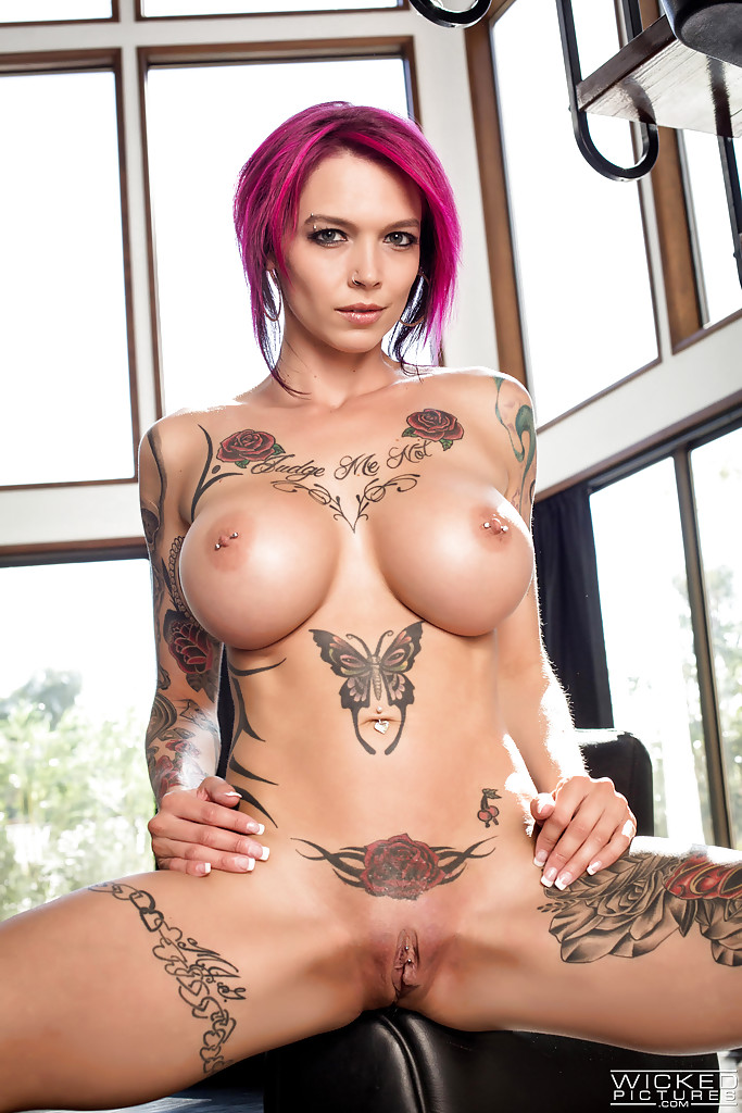 Suggest you Nude babe fully tattooed