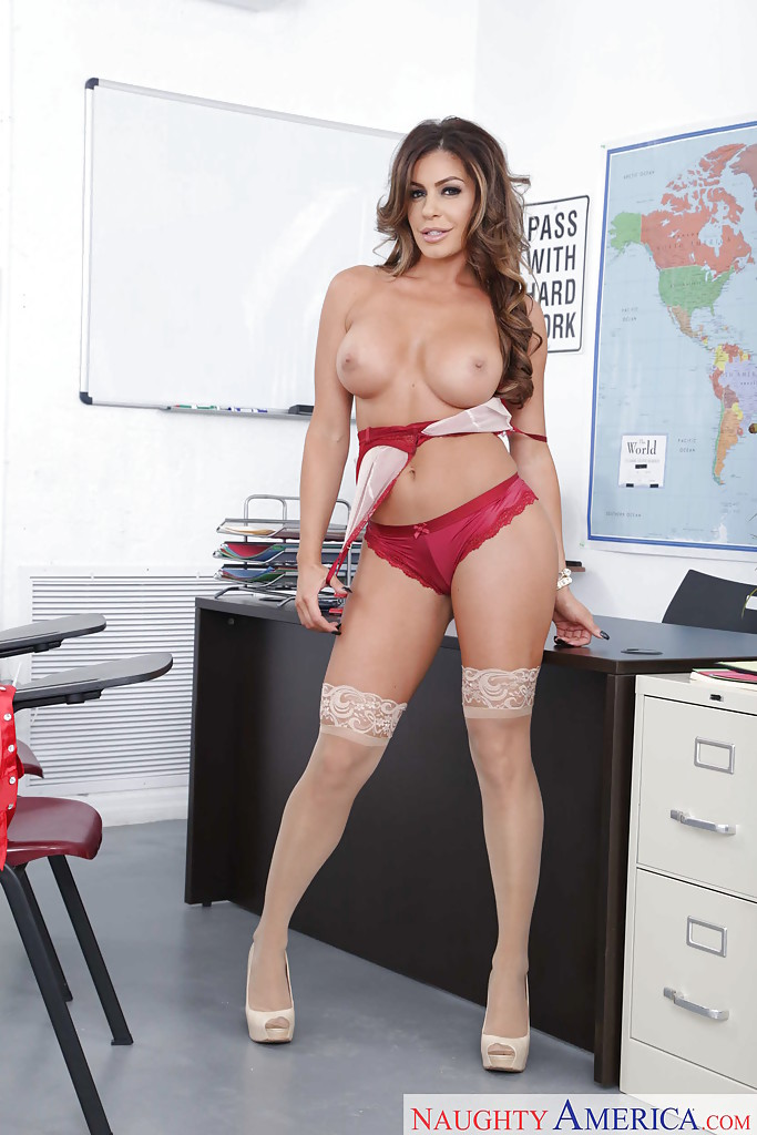 Love sexy teacher masturbate grade