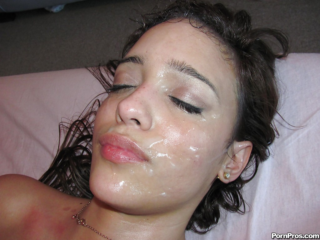 Free latina facial cumshots apologise, but
