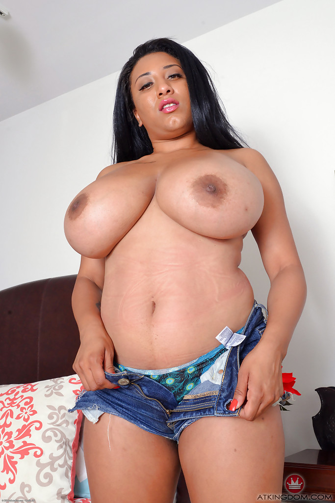 Chubby latina with big tits