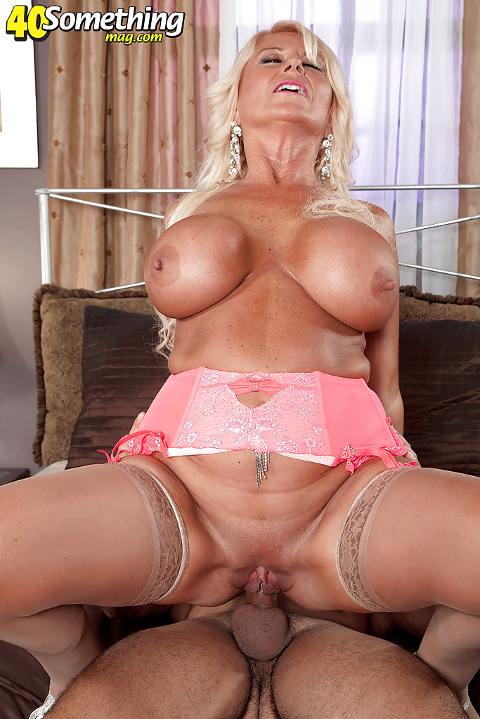 Tan Blonde Big Tits Creampie
