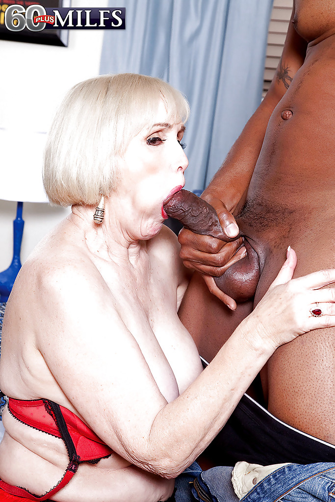Mature Enjoys Black Cock