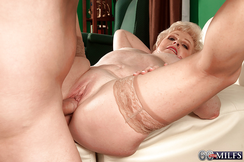 Naked older women with younger men