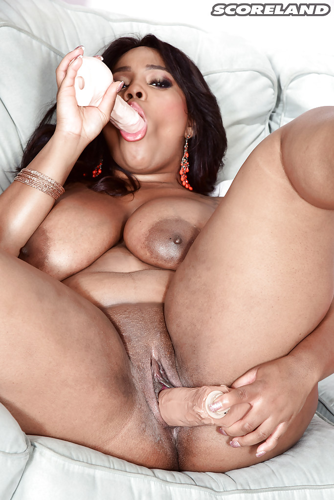Bbw masturbating on sofa
