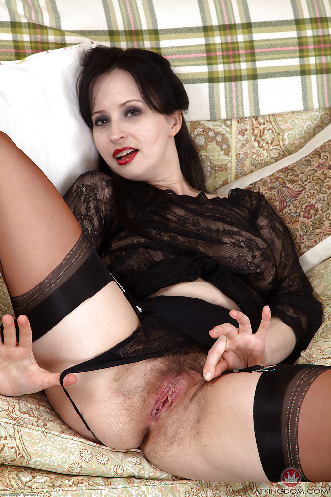 Nylons in hairy women