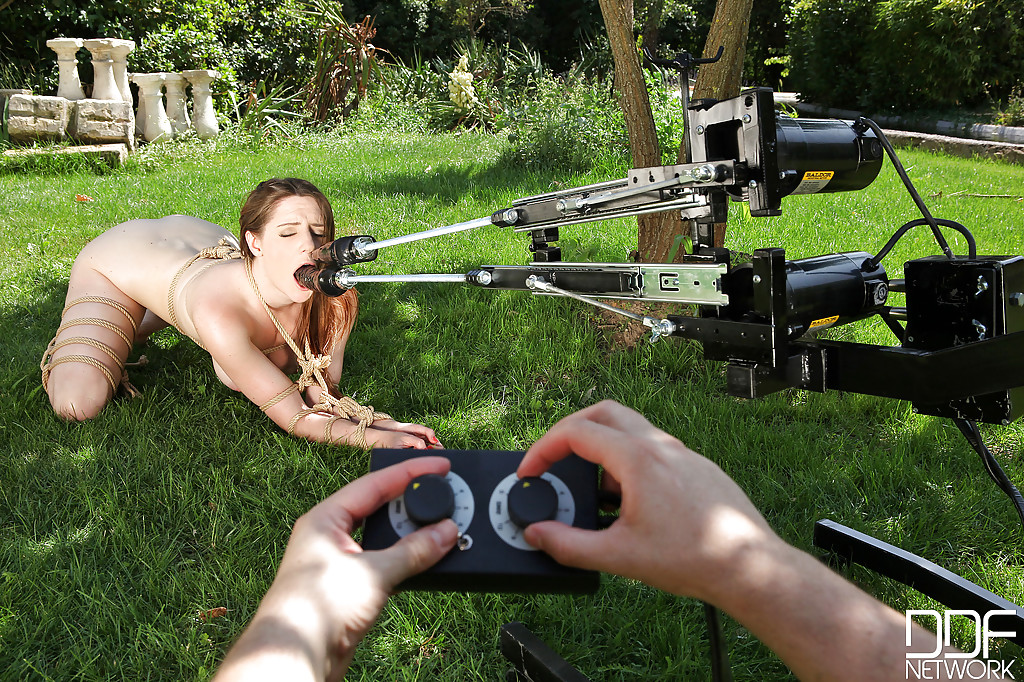 Fastened lady Samantha Bentley gets her snatch and anal intruded in a Bdsm manner porn photo #317872620 | House Of Taboo, Samantha Bentley, Anal, Ass, Bondage, Close Up, European, Hairy, Outdoor, Pussy, mobile porn
