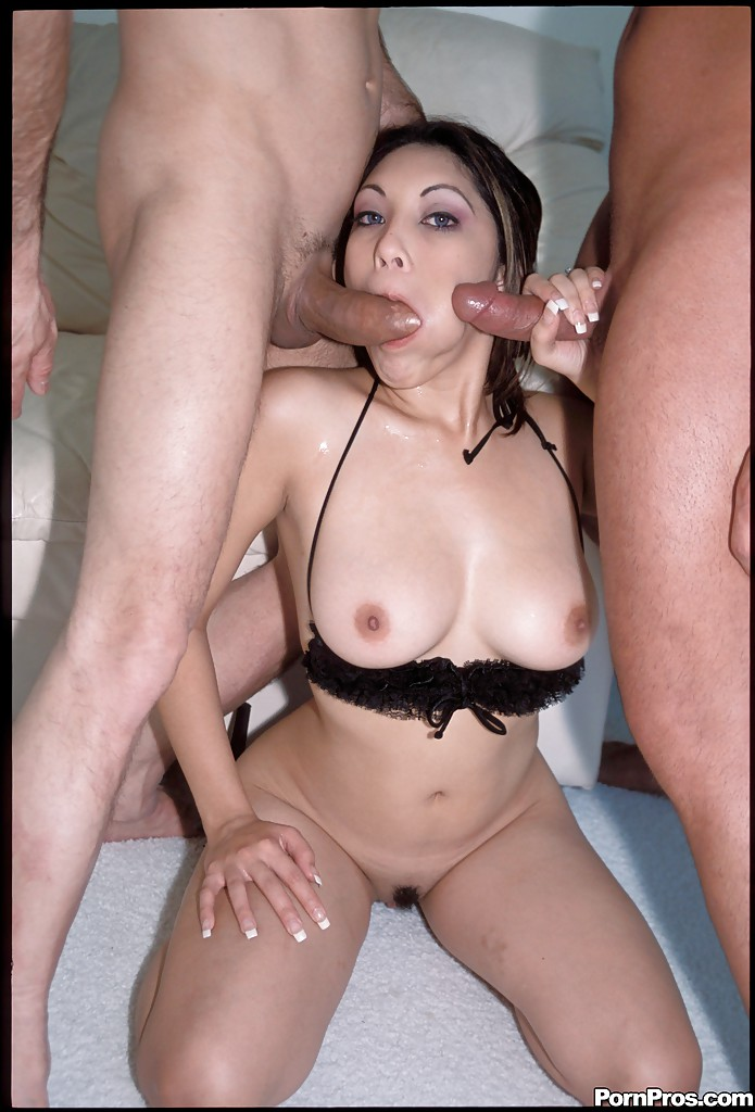Asian mmf threesome