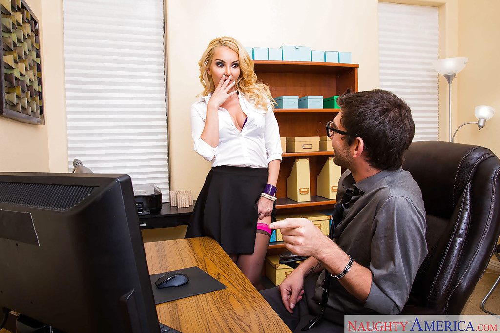 Secretary sex by office workers