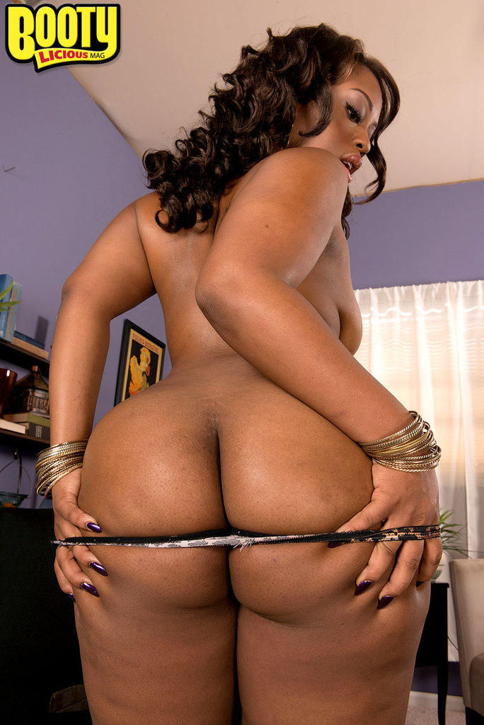 Solo ebony big booty