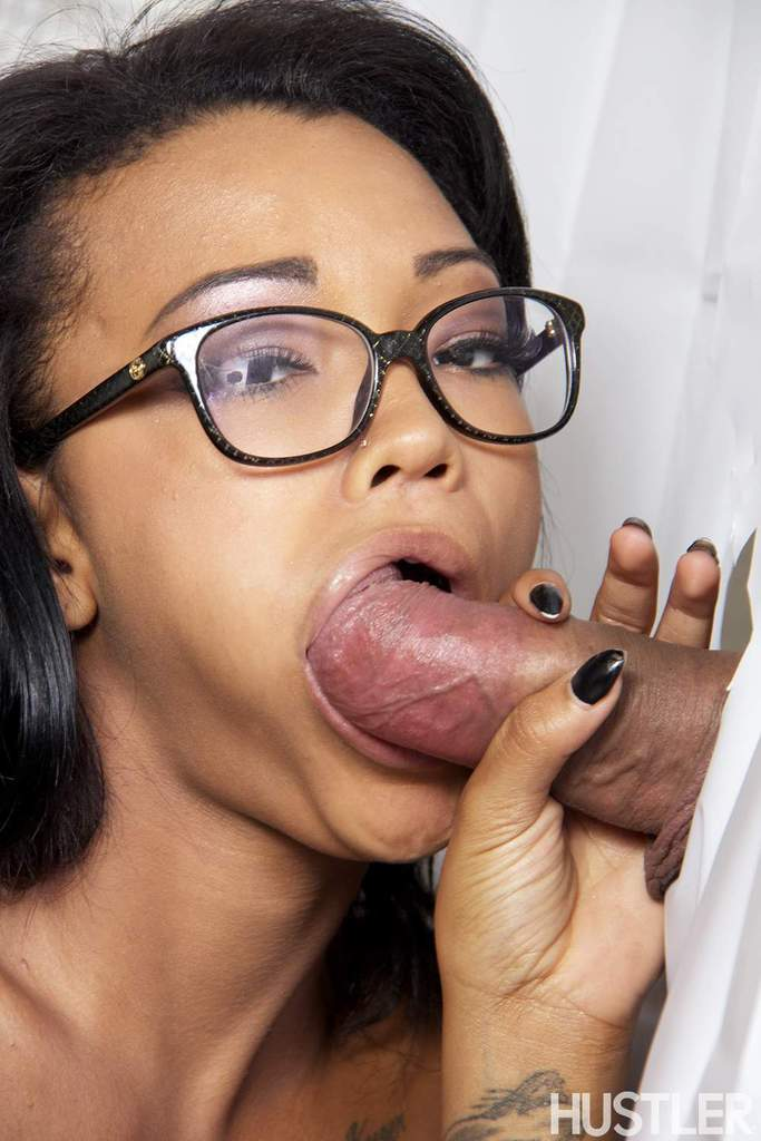 Ebony Phat Bbw Sucking Dick