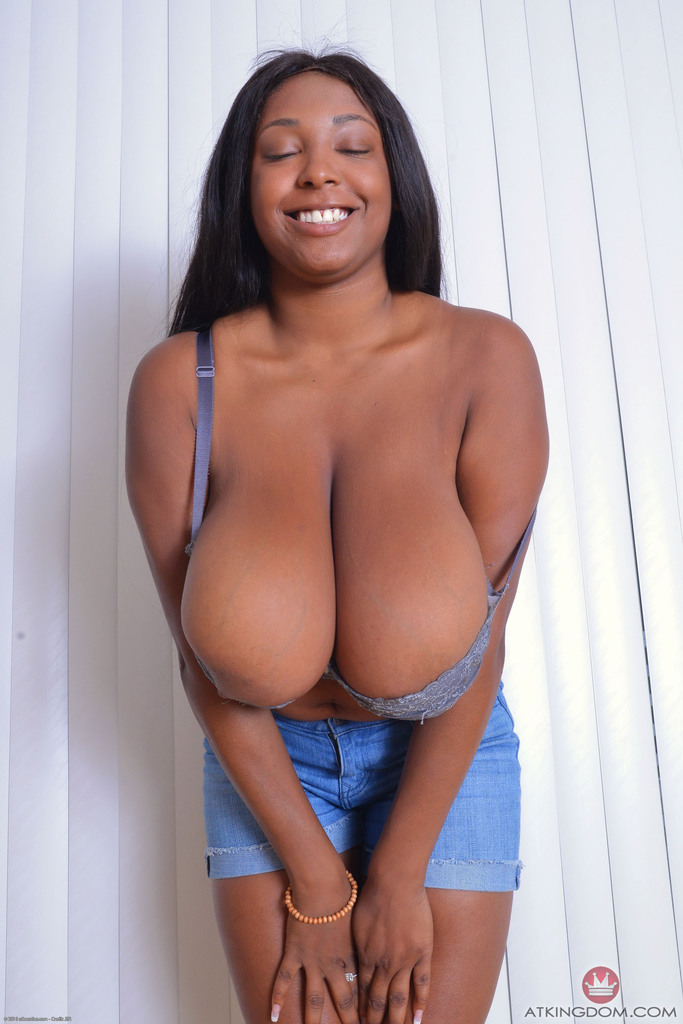 ebony big breast