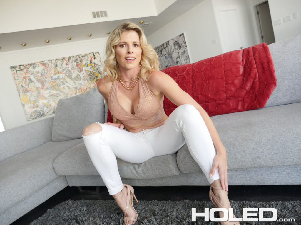 Blonde milf cory chase takes it up the ass for all anal 7