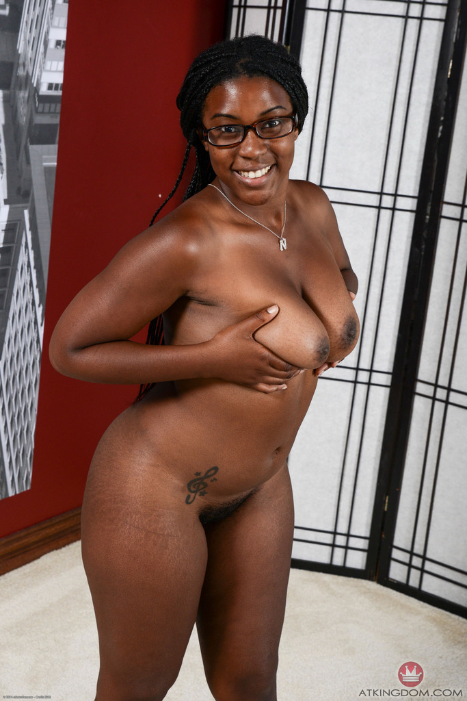 Big thick black glasses