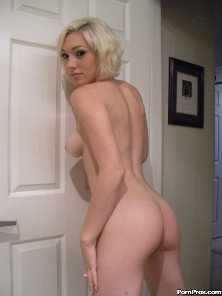 Nude blondes with glasses