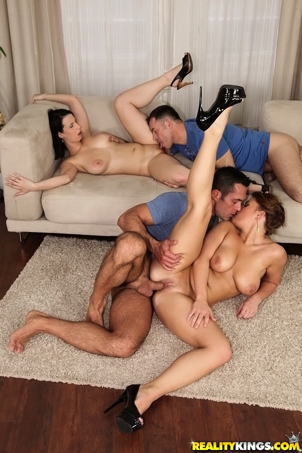 Wild And Hot Groupsex Hard Fuck Action
